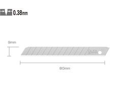 OLFA AB-10 Standart Dar Maket Bıçağı Yedeği (10 lu Tüp) - Thumbnail