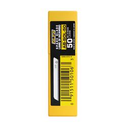 OLFA AB-SOL-50 Kırımsız (Tek Gövdeli) Standart dar Maket Bıçağı Yedeği 50 li - Thumbnail
