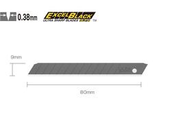 OLFA ABB-50 Dar Standart Black Seri Extra Keskin Maket Bıçağı Yedeği 50'li Tüp - Thumbnail