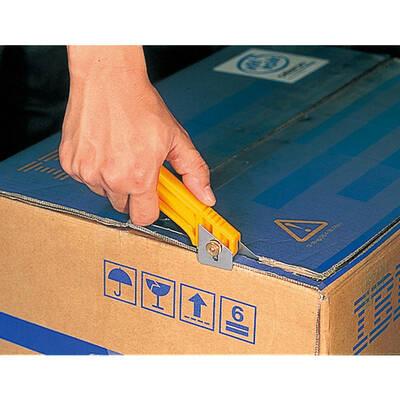 OLFA CL Zımba Sökücülü Vida Kilitli Karton Kesici Maket Bıçağı