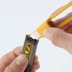 OLFA DA-1 Emniyetli Bıçak Kırma Gövdeli Dar Maket Bıçağı - Thumbnail