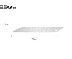 OLFA DKB-5 Dar ''30 Derece Açılı'' Seri/SAC-1 Maket Bıçağı Yedeği 5'li Tüp - Thumbnail