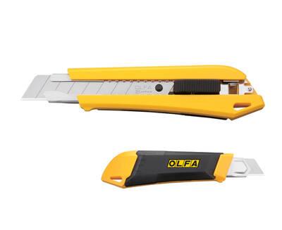 OLFA DL-1 Hazneli ve Bıçak Kırma Mekanizmalı Geniş Maket Bıçağı