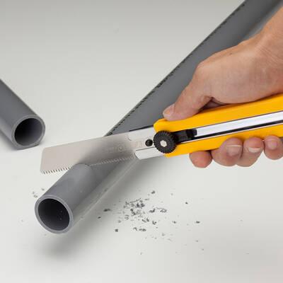 OLFA HSW-1 Dayanıklı ve Sertleştirilmiş Testere Uçlu Maket Bıçağı
