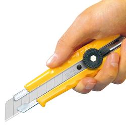 OLFA L-1 Vida Kilitli Çok Amaçlı Standart Geniş Maket Bıçağı - Thumbnail