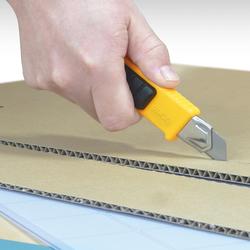 OLFA L-2 Vida Kilitli Çok Amaçlı Standart Geniş Maket Bıçağı - Thumbnail