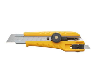 OLFA L-3 Çift Taraflı Kullanılabilen Vida Kilitli Geniş Maket Bıçağı