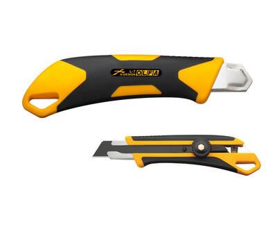 OLFA L-7 X-Design Vida Kilitli Geniş Maket Bıçağı