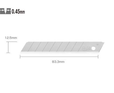 OLFA MTB-10B Maket Bıçağı Yedeği - 10'lu Tüp