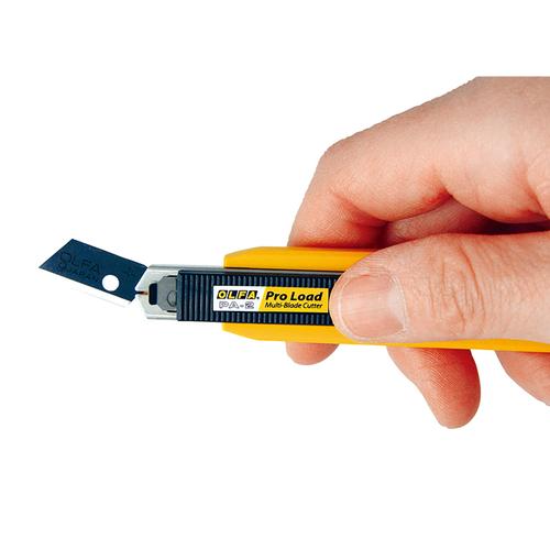 OLFA PA-2 Otomatik Yedek Bıçak Yükleyebilen Dar Maket Bıçağı