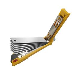 OLFA PL-1 Otomatik Bıçak Yükleme Mekanizmalı Geniş Maket Bıçağı - Thumbnail