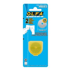 OLFA PRB28-2 Maket Bıçağı Yedeği 2'li - Thumbnail