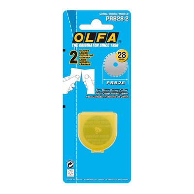 OLFA PRB28-2 Maket Bıçağı Yedeği 2'li