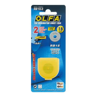OLFA RB18-2 Maket Bıçağı Yedeği (2 li)