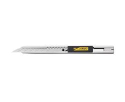 OLFA SAC-1 Paslanmaz Çelik 30 Derece Açılı Özel Grafik Dar Maket Bıçağı - Thumbnail