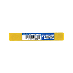 OLFA SAB-10 Dar 30 Derece Açılı Seri/SAC-1 Maket Bıçağı Yedeği 10'lu Tüp - Thumbnail