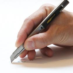 OLFA SVR-1 Paslanmaz Çelik Gövde Dar Maket Bıçağı - Thumbnail